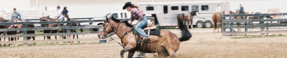 Sarah Barrel Racing